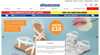 Welcome to Shoezone.ie - Shoe Zone