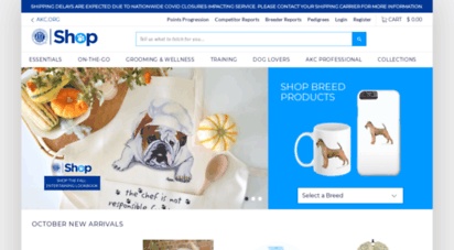 Welcome to Shop akc org - AKC Shop | Dog Supplies & Accessories