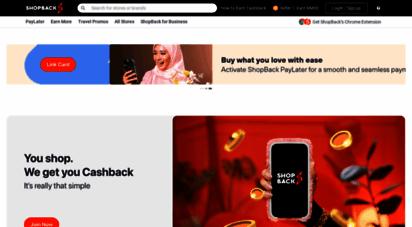 shopback.my - cashback  promo codes & vouchers in malaysia  shopback
