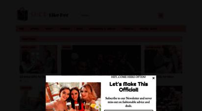 shoplikeher.com - shop like her - fashion for all