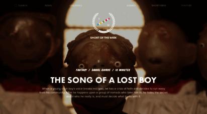 shortoftheweek.com - watch the best short films  short of the week