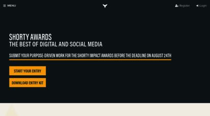 shortyawards.com -
