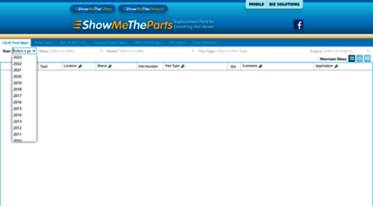 showmetheparts.com - showmetheparts - automotive aftermarket electronic catalog