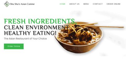 shushus.com - chinese restaurant in austin, tx  shu shu´s asian cuisine