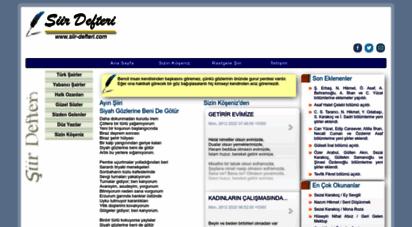 siir-defteri.com - şiir defteri
