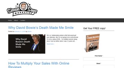 simonsaysmarketing.com - simon says marketing - the marketing blog for simon says media