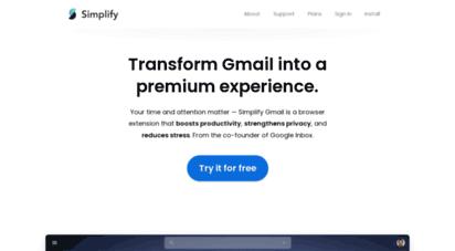 simpl.fyi - simplify gmail