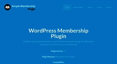 simple-membership-plugin.com - simple membership plugin - membership plugin