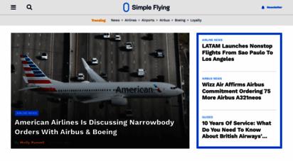 simpleflying.com - simple flying - aviation news & insight