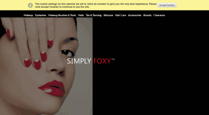 simplyfoxy.com - hugedomains.com