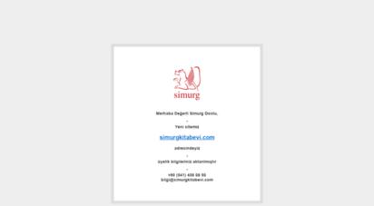simurg.com.tr - simurg kitabevi türkiye´nin entelektüel birikimi - kitapçılıkta 34 yıl