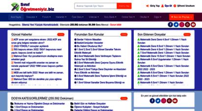 similar web sites like sinifogretmeniyiz.biz