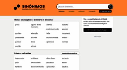 sinonimos.com.br - sinônimos