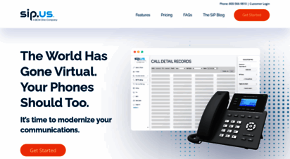 sip.us - business sip trunking service provider  sip company