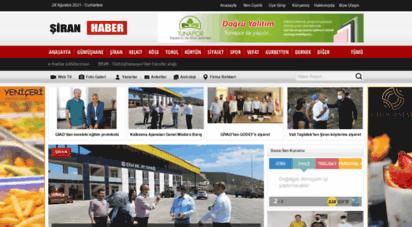 siranhaber.com - şiran gündem gazetesi