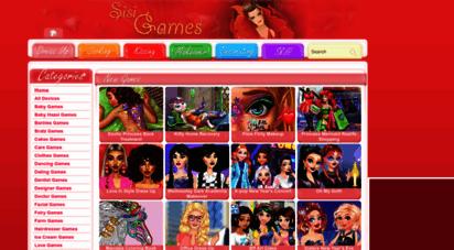 sisigames.com - girls games - sisigames.com
