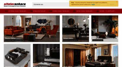 sitelerankara.com - ev mobilyası e-fuar alanı - siteler ankara mobilyacılar sitesi mobilya dekorasyon imalat ve satış portalı