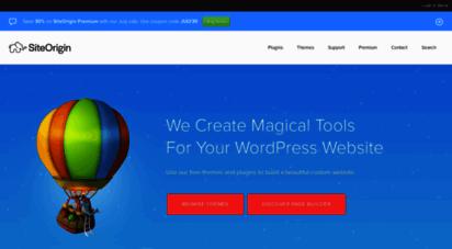 siteorigin.com - siteorigin - free wordpress themes and plugins