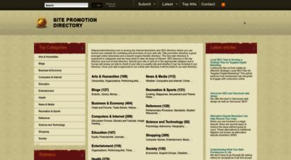 sitepromotiondirectory.com - site promotion directory