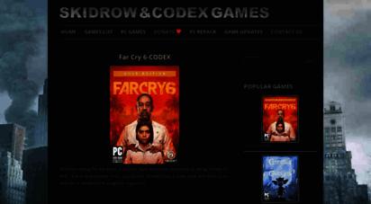 skidrowcodexgames.com