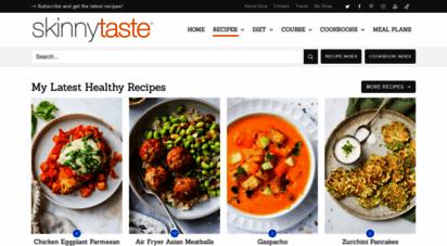 skinnytaste.com - skinnytaste - delicious healthy recipes made with real food