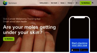 Welcome To Skinvision Com Skinvision Skin Cancer Melanoma Detection App