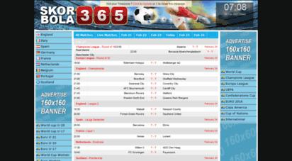 skorbola365.org - skorbola365: live skor bola, jadwal dan hasil bola langsung