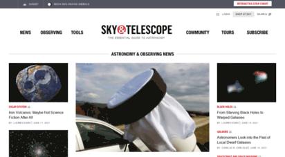 skyandtelescope.com - sky & telescope  astronomy news, tools & resources