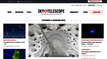 skyandtelescope.org - sky & telescope  astronomy news, tools & resources - sky & telescope