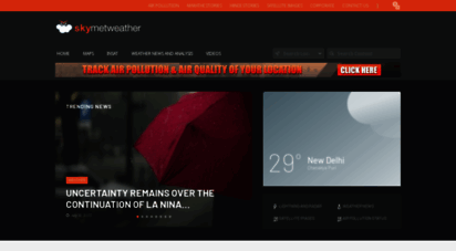 skymetweather.com - weather forecast  weather in india and world  skymet weather