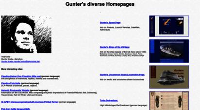 skyrocket.de - gunter´s diverse homepages