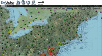 skyvector.com - skyvector: flight planning / aeronautical charts