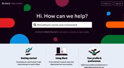 slack.help - slack help center  slack