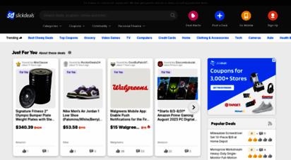 slickdeals.net - slickdeals: the best deals, coupons, promo codes & discounts