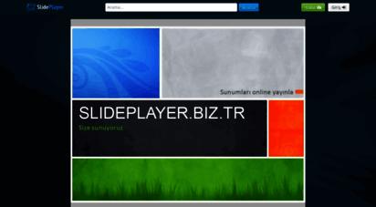 slideplayer.biz.tr - slideplayer - yükleyin and powerpoint sunumlarınızı paylaşın