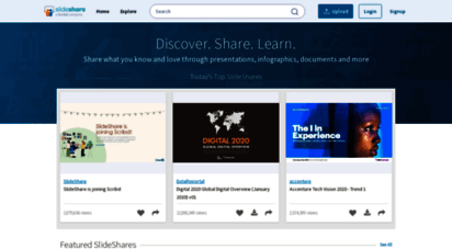 slideshare.net - share and discover knowledge on slideshare