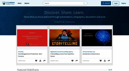 similar web sites like slideshare.net
