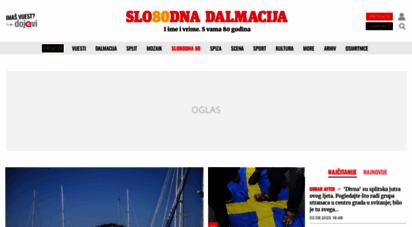 slobodnadalmacija.hr - slobodna dalmacija - najveće dnevne novine u dalmaciji