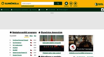 slunecnice.cz - slunečnice.cz - programy rychle a zadarmo