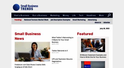 smallbiztrends.com - small business news, tips, advice - small business trends