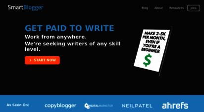 smartblogger.com - smart blogger: cutting edge advice about blogging