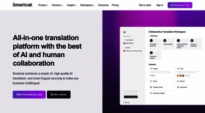 smartcat.ai - smartcat: experience connected translation