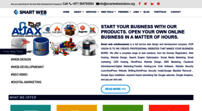 smartwebsolutions.org - web design and development company in uae and india