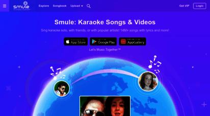 smule.com - smule  sing 10m karaoke songs on the 1 social singing app