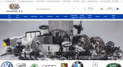 sncotomotiv.com - snc otomotiv / oto yedek parça, en hızlı parçacı