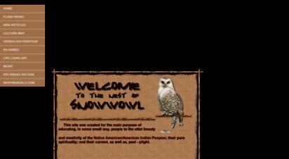 snowwowl.com - welcome to the nest of snow owl