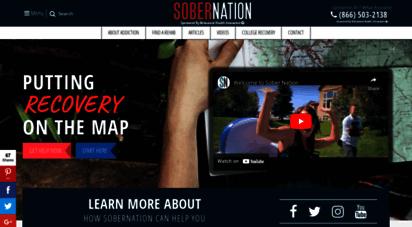sobernation.com - drug & alcohol rehab centers  sober nation