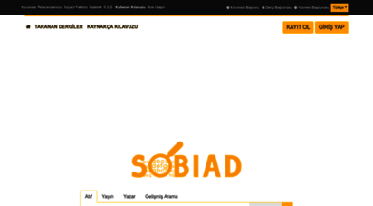 sobiad.com - sobiad atıf dizini - anasayfa