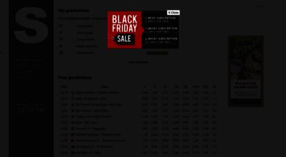 soccer-predictions.net - soccer predictions