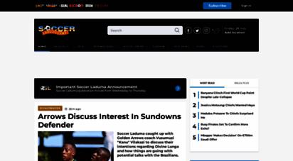 soccerladuma.co.za - south african soccer news